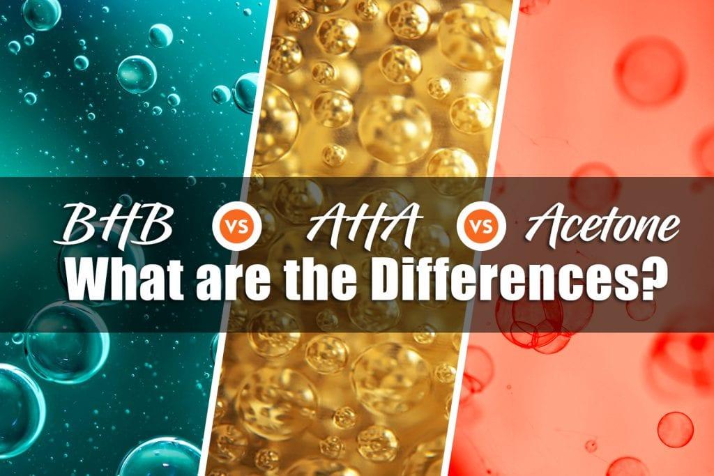 BHB vs ACA vs Acetone