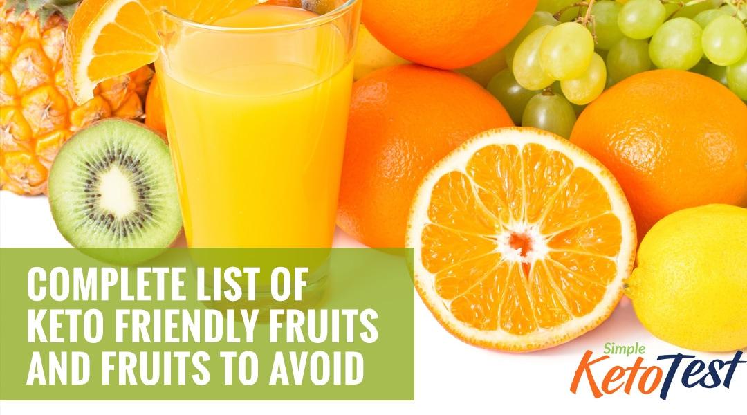 keto fruits to avoid