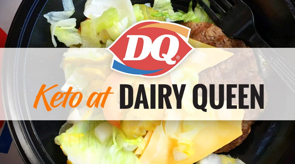 can u have dairy queen on keto diet
