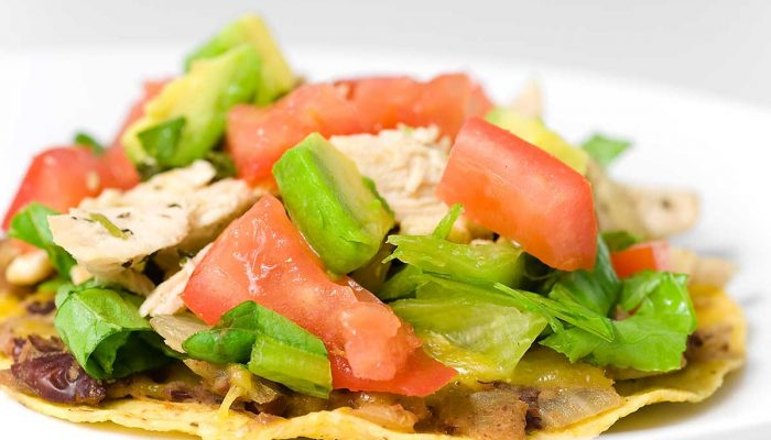 cilantro-lime-chicken-tostada