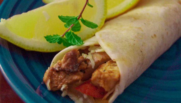 grilled-chicken-wrap
